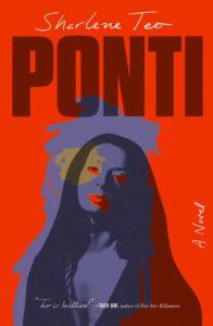Sharlene Teo, Ponti, design by Tyler Comrie (Simon & Schuster)