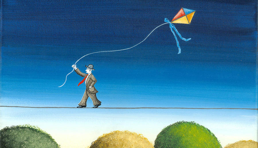 Leif Enger: Why I Carry a Kite With Me Everywhere | Literary Hub
