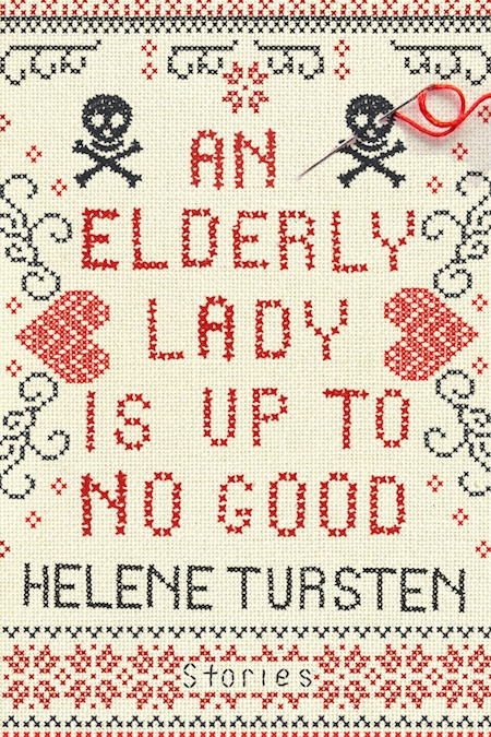 Helene Tursten, <em>An Elderly Lady is Up to No Good</em>, tr. Marlaine Delargy, Soho Crime; design by TK TK. (November 6, 2018)