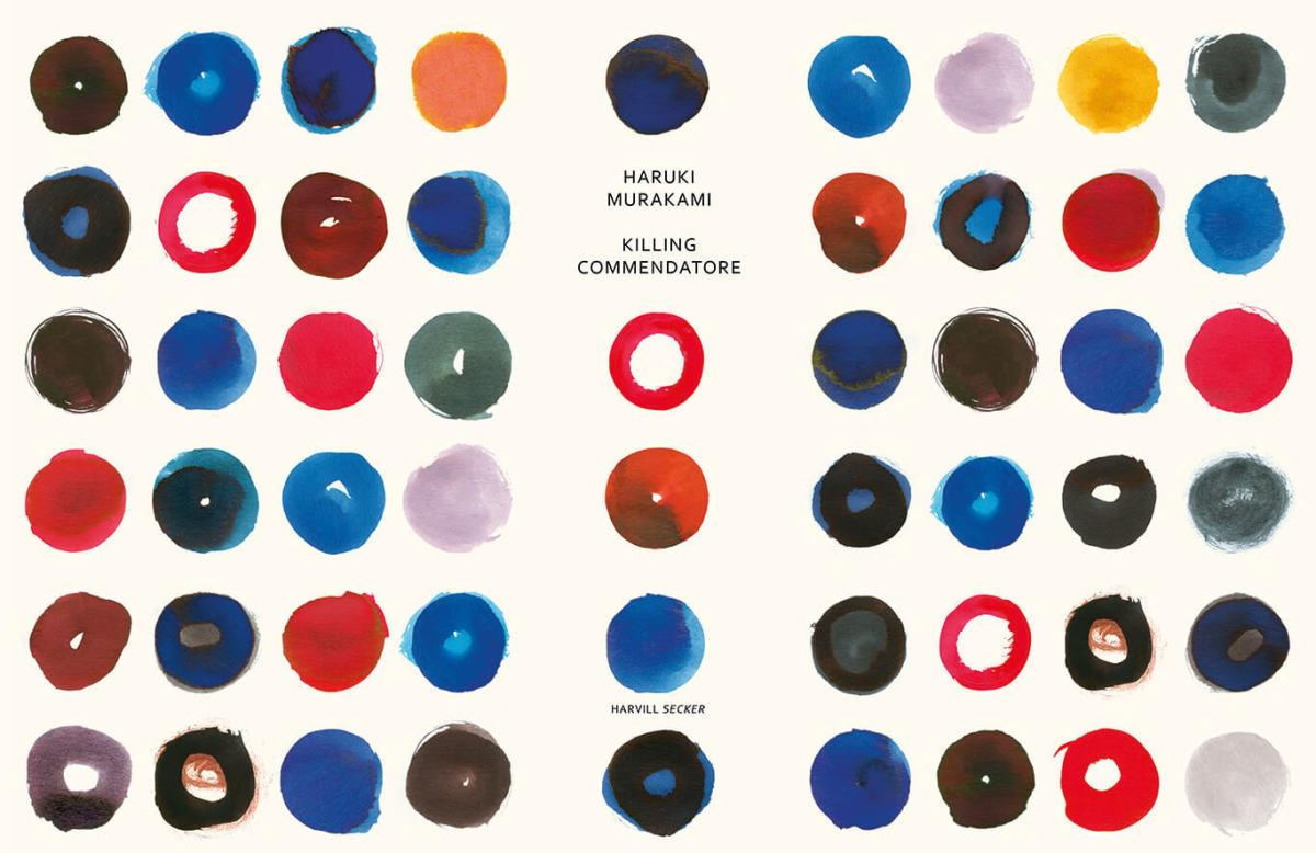 Haruki Murakami, <em>Killing Commendatore</em> (UK Special Edition), design by Suzanne Dean (Harvill Secker)