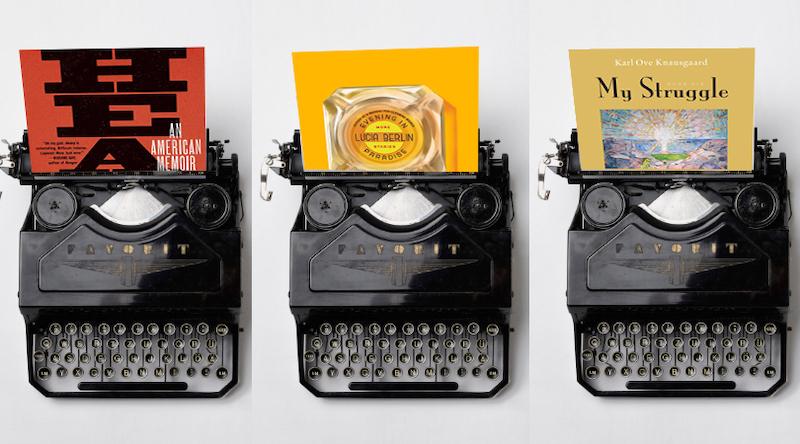 book reviews, Adam Morgan, My Struggle, Evening in Paradise, Heavy
