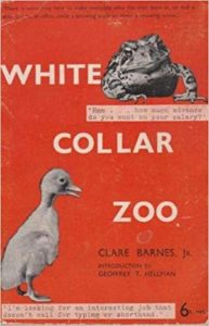 Clare Barnes Jr., White Collar Zoo