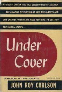 John Roy Carlson, Under Cover