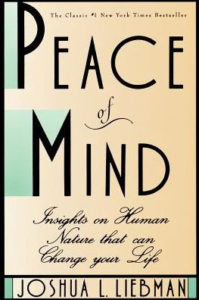 Joshua L. Liebman, Peace of Mind