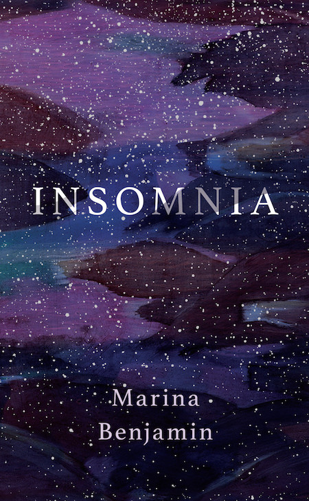Marina Benjamin, <em>Insomnia</em>, design by Nicole Caputo (Catapult)
