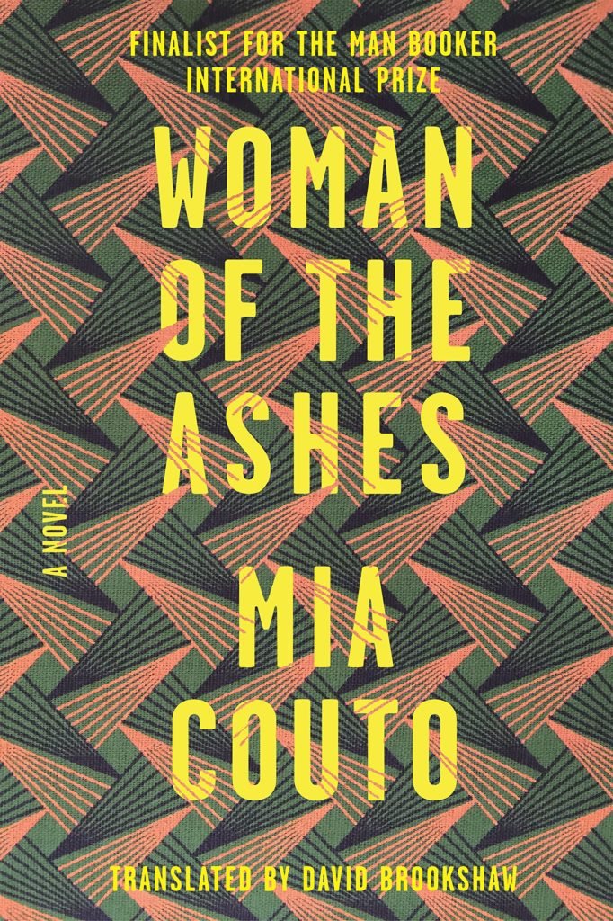 Mia Couto, <em>Woman of the Ashes</em>, design by Sarahmay Wilkinson