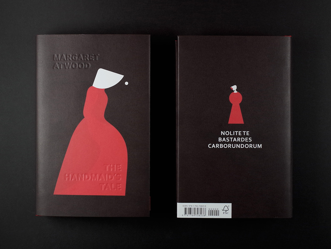 Margaret Atwood, <em>The Handmaid's Tale</em>, illustration by Noma Bar, design by Suzanne Dean (Vintage UK)
