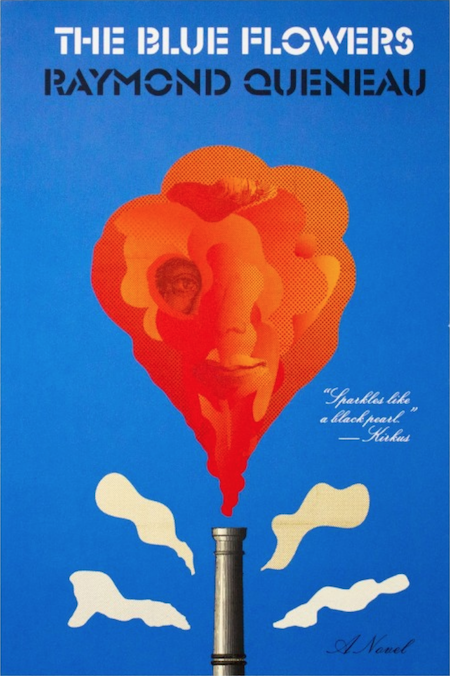 Raymond Queneau, <em>The Blue Flowers</em>, design by Peter Mendlesund (New Directions)