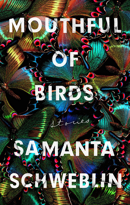 Samanta Schweblin, tr. Megan McDowell, Mouthful of Birds, Riverhead; design by Stephen Brayda (January 8, 2019)