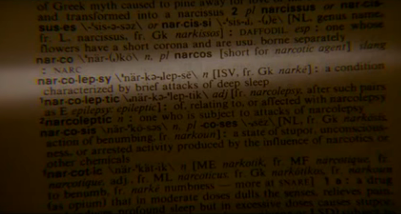 My Own Private Idaho dictionary