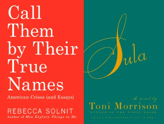 Rebecca Solnit, Toni Morrison
