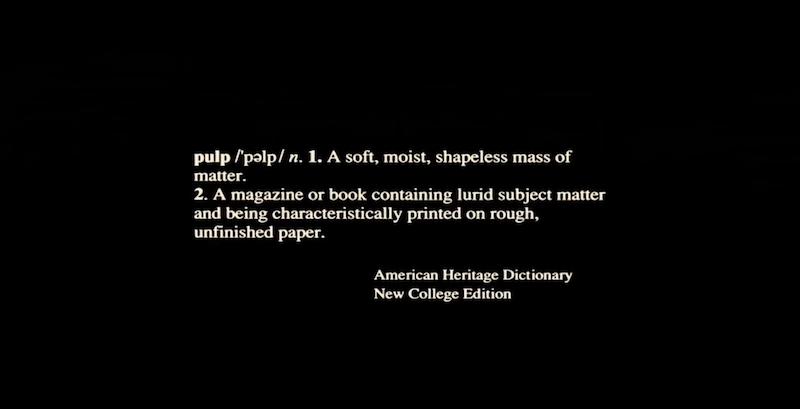 pulp fiction definition