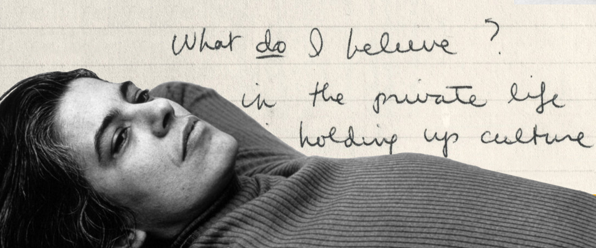 How to Live Like Susan Sontag