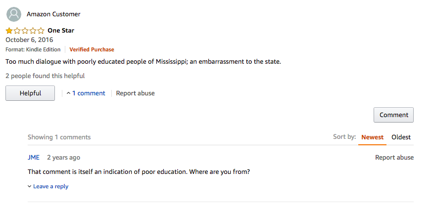 The 50 Best One-Star Amazon Reviews of Faulkner's The Sound