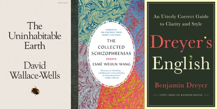 The Uninhabitable Earth, The Collected Schizophrenias, Dreyer's English