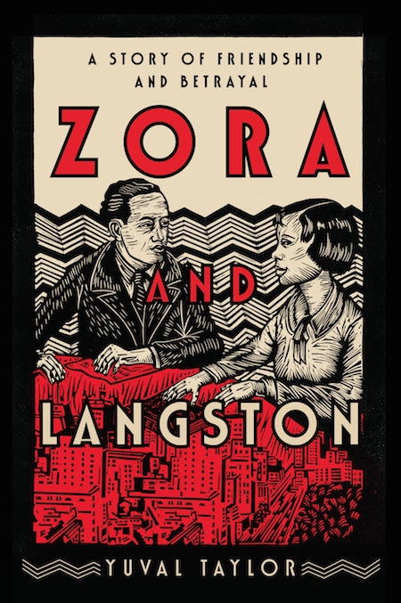 Yuval Taylor, <em>Zora and Langston: A Story of Friendship and Betrayal</em>, W. W. Norton; design by Steve Attardo, art by Juan Fuentes (March 26, 2019)