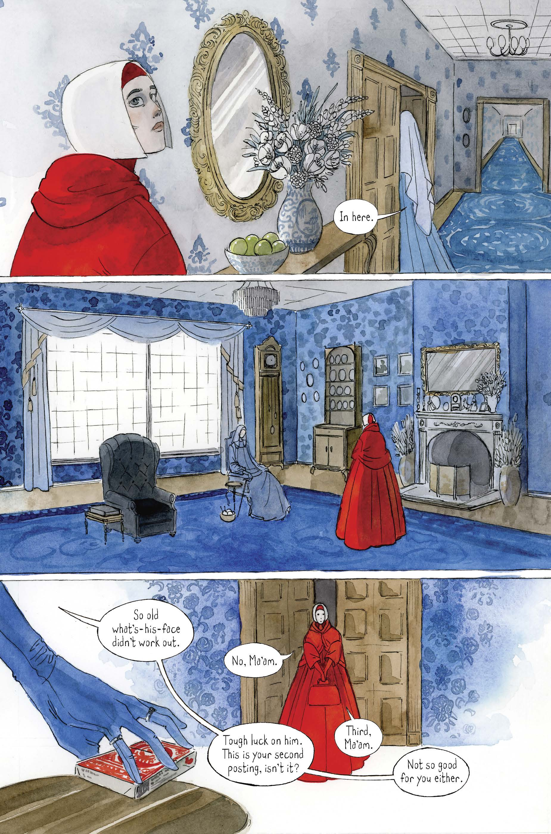 Read From The Graphic Novelization Of The Handmaid's Tale