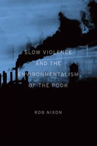Rob Nixon, Slow Violence and Environmentalism of the Poor