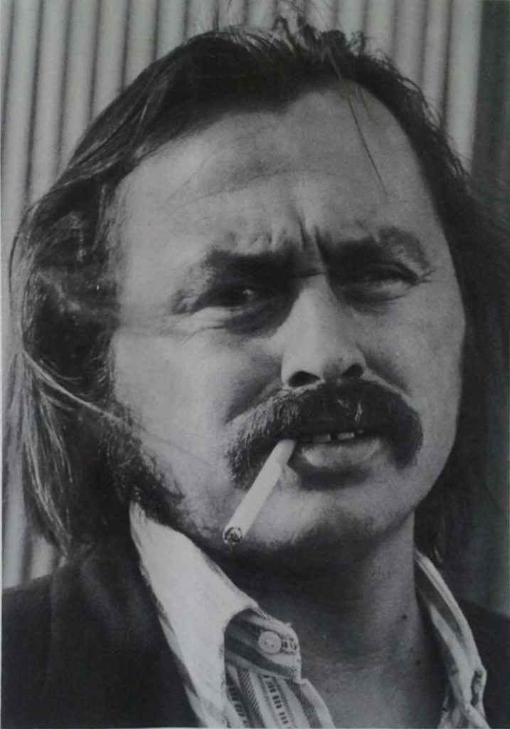 Jim Harrison (Photo by Jill Krementz) (from the back of <em>A Good Day to Die</em>, 1973)