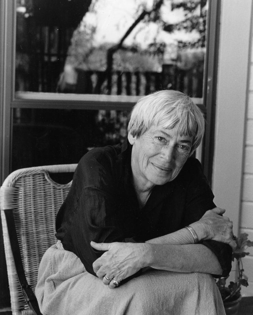 Ursula K. Le Guin (Photo by Marian Wood Kolisch)
