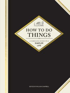 William Campbell, ed.,How to Do Things