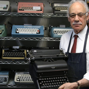 See Paul Schweitzer for All Your Typewriter Needs
