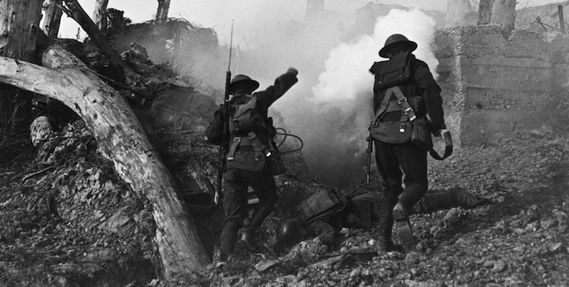 Walter Benjamin: How WWI Changed the Meaning of 'Barbaric'