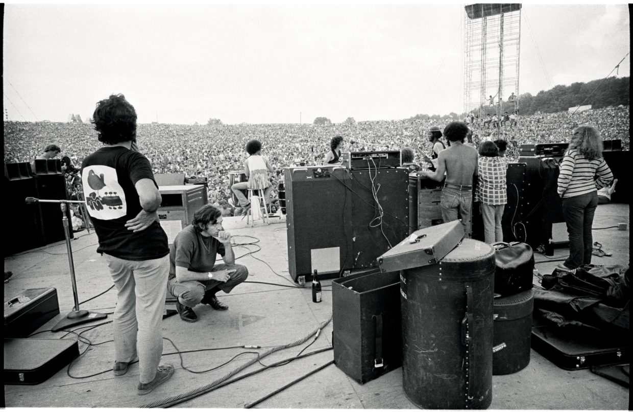 Jim Marshall's Iconic Photos from the 1969 Woodstock