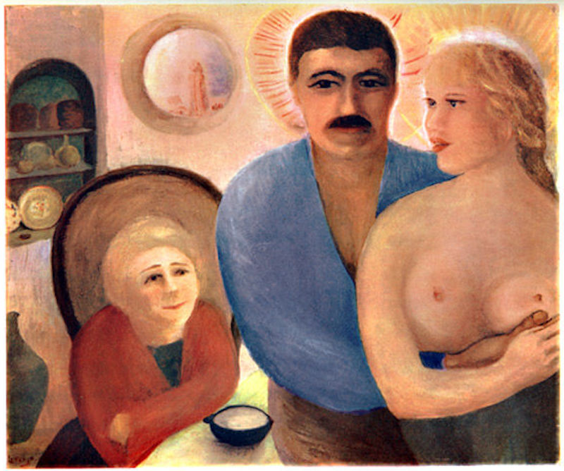 """D. H. Lawrence, """"A Holy Family,"""" 1926"""