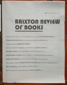 Brixton Review of Books Issue 6