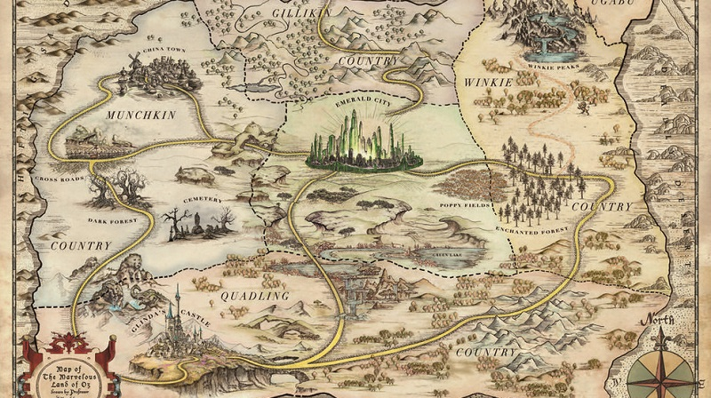 Why We Feel So Compelled To Make Maps Of Fictional Worlds
