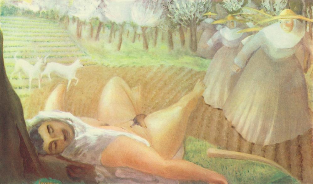 "D. H. Lawrence, ""Boccaccio Story"""