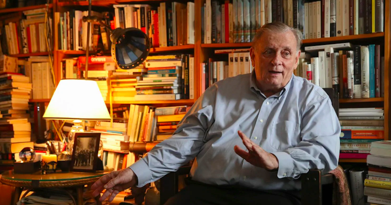 Edmund White will receive a lifetime achievement award from the National Book Foundation.