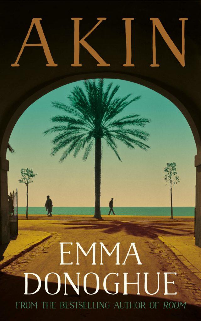 Emma Donoghue, <em>Akin</em>; design by Margaret Lonergan; illustration after the photograph <em>La Promenade des Anglais</em> by Martin Hürlimann, 1937 (Little, Brown, September 10)