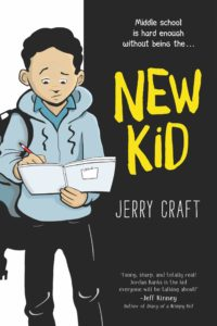 Jerry Craft, color by Jim Callahan, New Kid