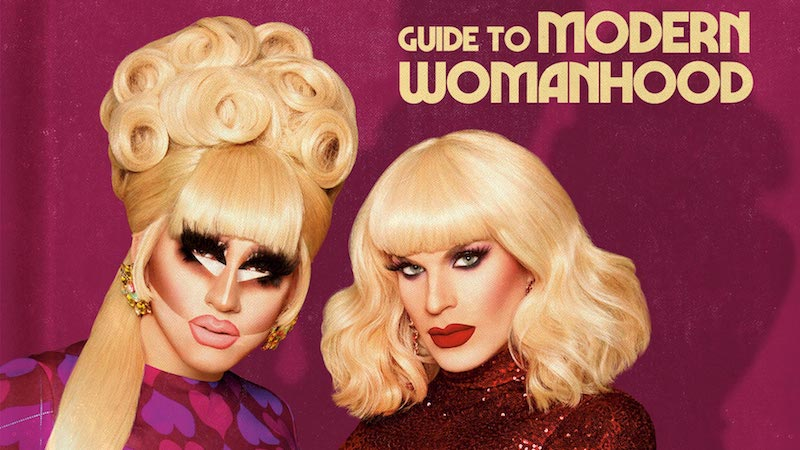 Trixie and Katya have a book cover. | Literary Hub