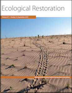 Ecological restoration