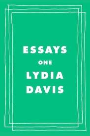 Essays One Lydia Davis