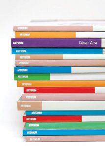 César Aira, tr. Katherine Silver,Artforum