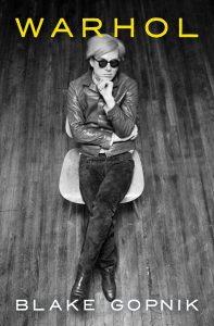 Blake Gopnik,Warhol