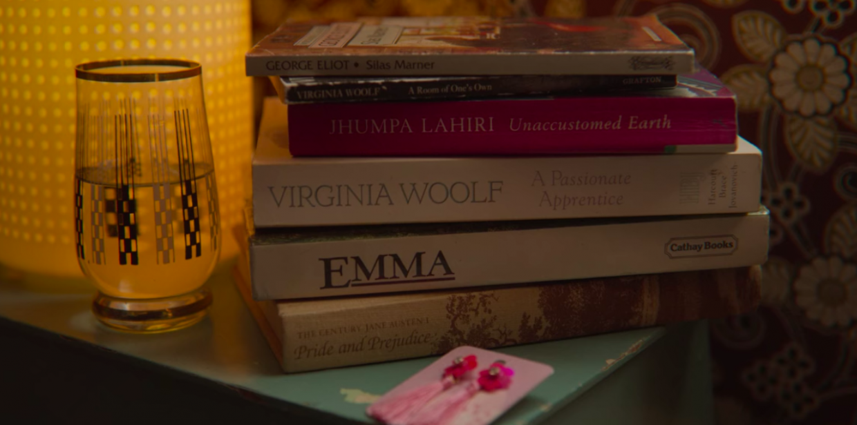 books on nightstand, TBR pile, the classics, Sex Education