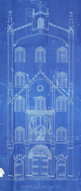 St Georges elevation drawing 1929_HIGHEST RES AVAILABLE