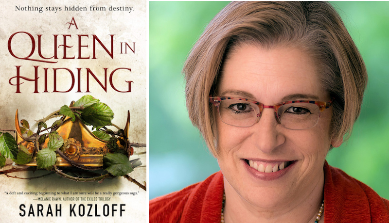A Queen In Hiding Sarah Kozloff