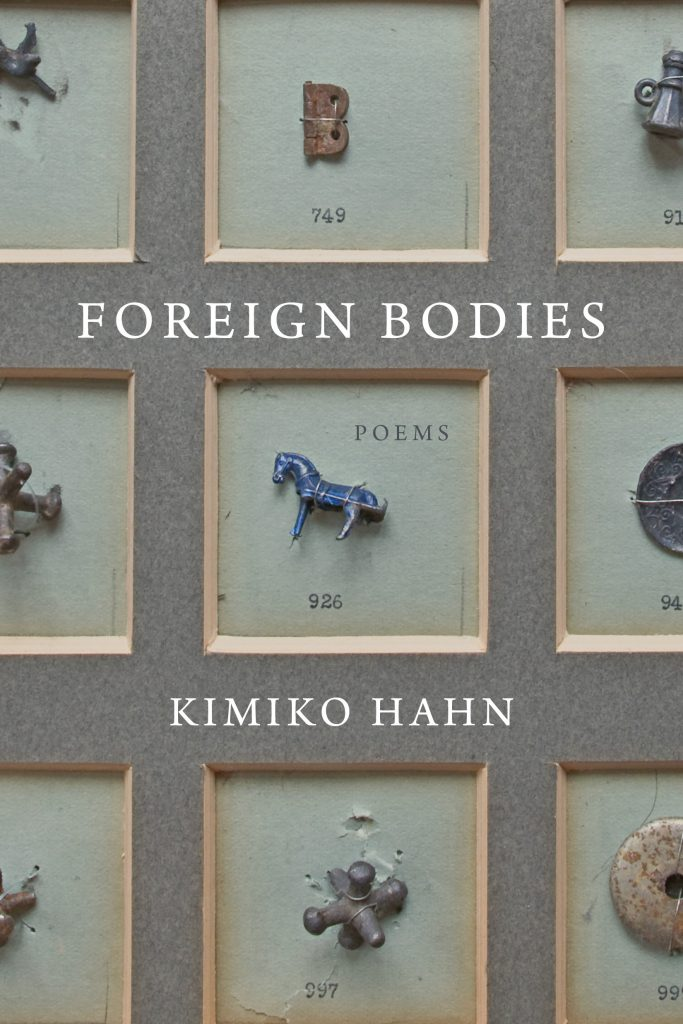 Kimiko Hahn,<em>Foreign Bodies</em>; cover design by Yang Kim, art direction by Ingsu Liu (W. W. Norton, March 3)