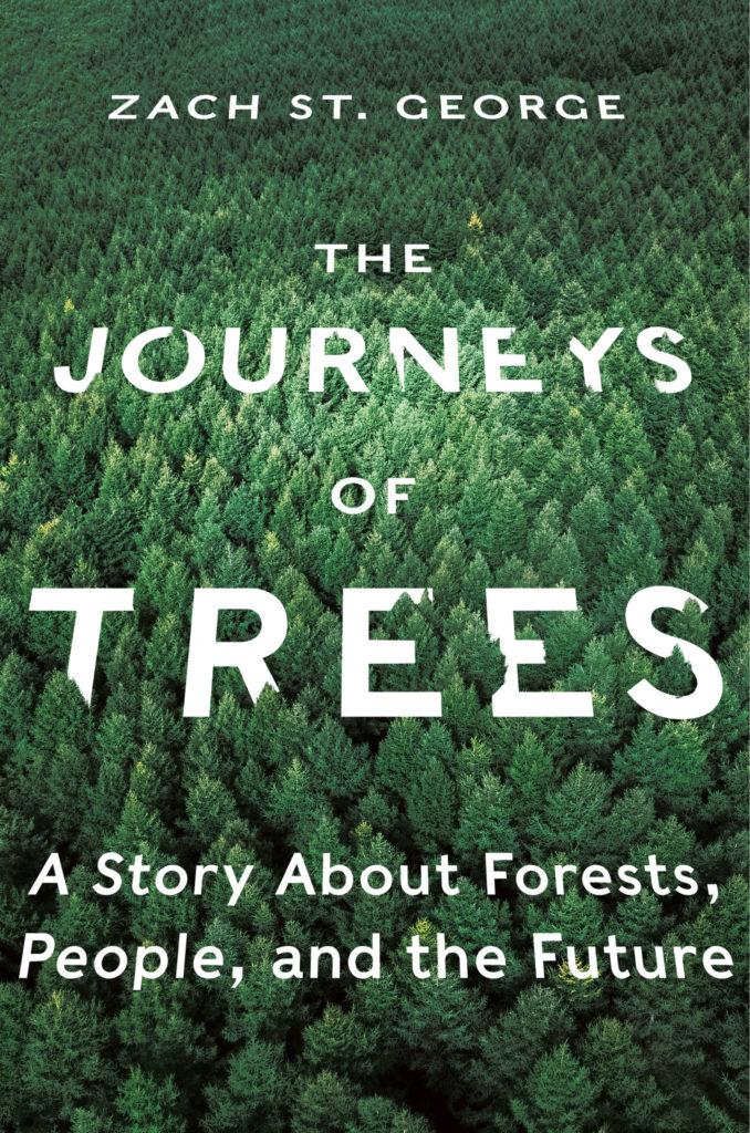 Zach St. George, <em>The Journeys of Trees</em>; cover design by Yang Kim; art direction by Ingsu Liu (W.W. Norton, July 14)