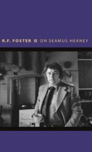on seamus heaney, rf foster