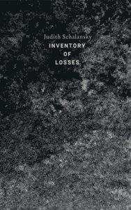 inventory of losses, Judith Schalansky