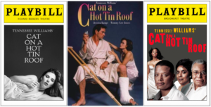 Cat on a Hot Ton Roof playbills