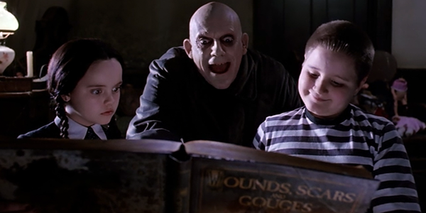Addams Family reading