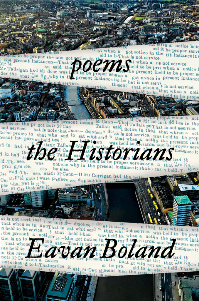 "Eavan Boland, <em><a href=""https://bookshop.org/a/132/9781324006879"" rel=""noopener"" target=""_blank"">The Historians</a></em>, cover design by Sarah Bibel, art direction by Sarahmay Wilkinson (W.W. Norton, October 13)"